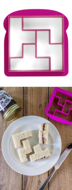 Tetris sandwich cutter - AWESOME! Bites and pieces #product_design