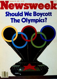 On this day (March 21) in 1980, US President Jimmy Carter announces that the United States will boycott the Olympic Games in Moscow. This is done in protest of the USSR invasion of Afghanistan.
