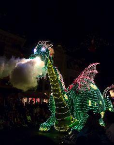 Disney World Florida - Electric Light Parade.