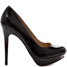 Mika - Black Patent  Paris Hilton
