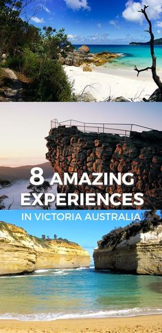 Top 10 Beautiful Places to Visit in Victoria (Australia) Experience the best day trips from Melbourne - from the breathtaking beaches in Mornington Peninsula to thrill seeking hikes in The Grampians. Australia Travel Guide, Visit Australia, Melbourne Australia, South Australia, Australia 2018, Australia House, Western Australia, Brisbane, Beach Camping