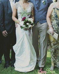 Helen English · Mermaid · Tulle · Gold· Size 6 | Wedding Dresses | Savvy Brides