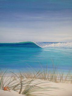 Surf Art by Von Ollie