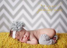 chevron...yellow...gray...love