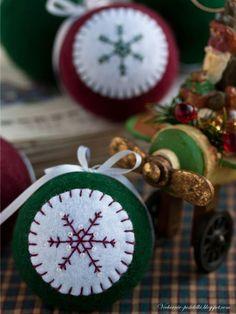 Christmas felt crafts   christmas craft ideas: felt ball tutorial - crafts ideas - crafts for ...