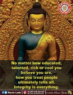 Best Buddha Quotes, Treat People, Believe, Statue, Education, Onderwijs, Learning, Sculptures, Sculpture