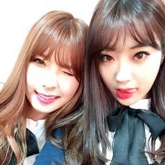 Nine Muses Hyemi & Kyungri