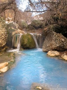 Fifth Water Hot Springs (also called Diamond Fork Hot Springs) is located in Diamond Fork Canyon. You'll hike 2 ½ miles from the trailhead. It's a moderate hike, but well worth the effort when you get to the soaking pools and waterfall!