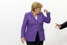 1: Germany's Chancellor Angela Merkel is the most powerful woman in the world right now, according to the latest ranking from Forbes. The ranking is a combination of two scores: visibility--by press mentions--and the size of the organization or country the women lead. REUTERS/Sebastien Pirlet