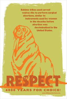 Items similar to Respect Walrus Ribs (Poster) on Etsy I Am The Walrus, Ribs, Respect, Reproductive Rights, Pro Choice, Movie Posters, Feminism, Style, Art