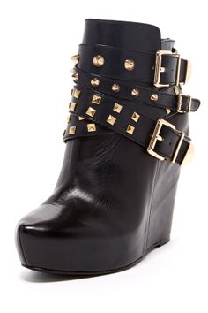 Aspen Ankle Wedge Bootie