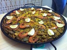 Arroz campestre (parecido a la paella) Antas, Almería, Mediterraneo, España