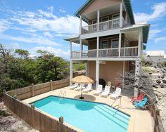 A perfect day in Cape San Blas, Florida.