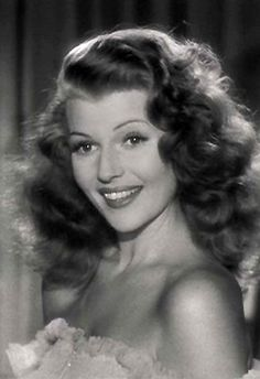 With 61 films done over a 37 year span, Rita Hayworth was a star for the ages. rita Hayworth as Gilda