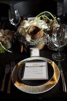 29 Adorable Steampunk Wedding Table Settings   HappyWedd.com