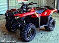 2016 Honda Rancher 420 ATV Ride Review / Specs - 4x4 Four Wheeler TRX420
