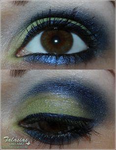 Beni Durrer Bon Bon Eye Make Up - Datum: 13.07.2012  http://talasia.blogspot.de/2012/07/beni-durrer-bon-bon-look.html
