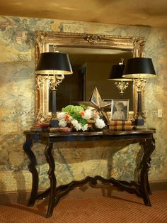 Entryway Decorations / IDEAS & INSPIRATIONS: Foyer Table Design Ideas, Pictures, Remodel, and Decor - CotCozy