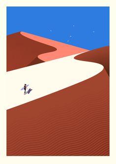 #ONTHEDRAW   Fuerteventura por Malika Favre