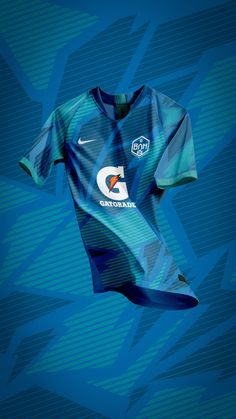 Gatorade BAM Jerseys on Behance Football Shirt Designs, Football Design, Soccer Kits, Football Kits, Basketball Uniforms, Football Jerseys, Sports Jersey Design, Manchester United Fans, Sport T Shirt