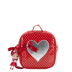 Zebra Trends Doll Kinder Tas (rood)