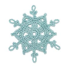 Stitchfinder : Crochet Snowflake: Taryn : Frequently-Asked Questions (FAQ) about Knitting and Crochet : Lion Brand Yarn
