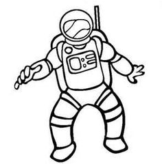Astronaut Paper Doll