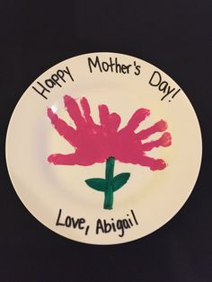 #Orlando #Kissimmee #Immigration #Lawyer #GailLaw #FreeConsultation shares her kids #craft #handprints #flower #mothersday