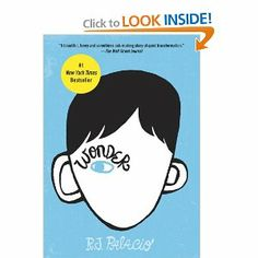 Wonder: R. J. Palacio: 9780375869020: Amazon.com: Books-nominated as one of the Best Books for Middle Grades in 2012