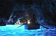 The Blue Grotto - Capri, Italy