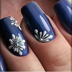 Best Winter Nails for 2017 - 67 Trending Winter Nail Designs - Best Nail Art Winter Nail Designs, Winter Nail Art, Cute Nail Designs, Winter Nails, Cute Nail Colors, Spring Nail Colors, Xmas Nails, Christmas Nails, Winter Christmas
