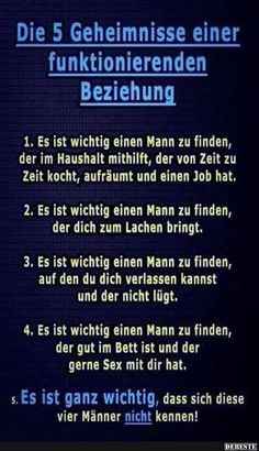 5 Geheimnisse einer funktionierenden Beziehung 5 secrets of a working relationship Words Quotes, Wise Words, Sayings, Funny Facts, Funny Memes, Funny Cartoons, German Quotes, I Love You Quotes For Him, Birthday Quotes For Best Friend