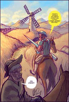 Dead Quixote de la Mancha by dio-03.deviantart.com
