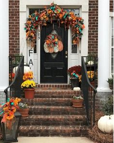 In this video, learn to make a large fall lantern flower arrangement for front porch lanterns using silk flowers and ribbon. Porch Lanterns, Fall Lanterns, Fall Flower Arrangements, Citrus Trees, Mediterranean Style, Fall Flowers, Green Plants, Up Styles, Air Space