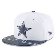 Dallas Cowboys New Era Youth 2017 NFL Draft Official On Stage 59FIFTY  Fitted Hat - White 936e4877d