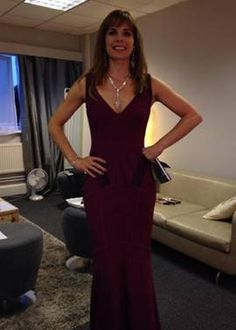 Darcey Bussell Wears The Naomi Dress for Strictly Come Dancing
