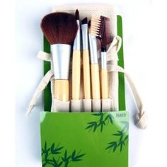 Elixir Beauty Cala Studio Pro Makeup Cosmetic Professional Bamboo Make-up Brush Set Kit with Case, 5pc by Elixir Beauty. $14.90. 5 pc. Artist's cosmetic bamboo brush collection - Premium studio quality. Perfect for applying precise makeup, blending of pigments and powders. Would be great makeup tools for travel. 1 x Powder brush, 1 x Concoaler Brush, 1 x Shading Brush. 1 x Angled Eyebrow Liner, 1 x Eyelash/Brow brush. Elixir Beauty Cala Cosmetic Brush Collection! Perfect f...