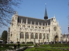 Notre Dame du Sablon - Bruselas, Bélgica