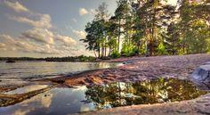 Haukilahti Beach Finland