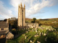 "St. Pancras Church, ""The Cathedral on the Moor"", Dartmoor National Park, England"