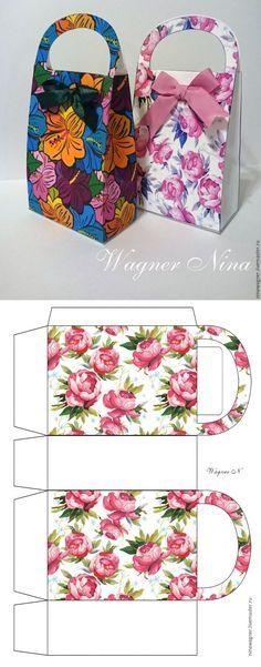 Делаем красивые подарочные пакеты-сумочки #diy #pack #craft