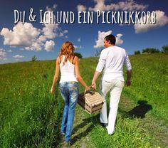 Du und ich und ein Picknickkorb