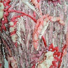 Gown textile for Pierre Balmain by maison lesage