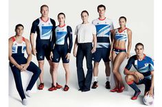 2012 london olympic kits for team gb by adidas and stella mccartney. Rio Olympics 2016, Summer Olympics, Great Britain Olympics, Going For Gold, Team Gb, Sports Uniforms, Neutral Outfit, Stella Mccartney Adidas, Sport Fashion