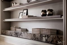 Beautiful Neutral Shelving