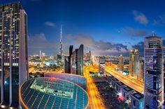 А вот так выглядит Дубай с высоты.