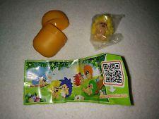 Kinder Surprise Egg Yellow Hedgehog Toy