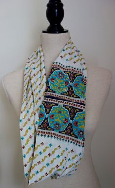 Black and Gold Handwoven Womens Recycled Sari Silk Scarf $27.95 ...