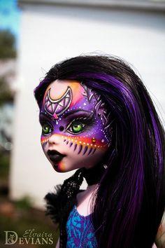 OOAK Draculaura Monster High repaint custom