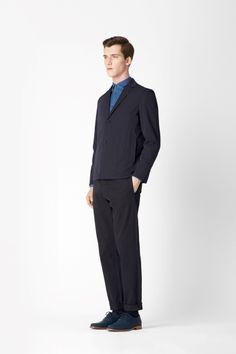 Fold-away blazer